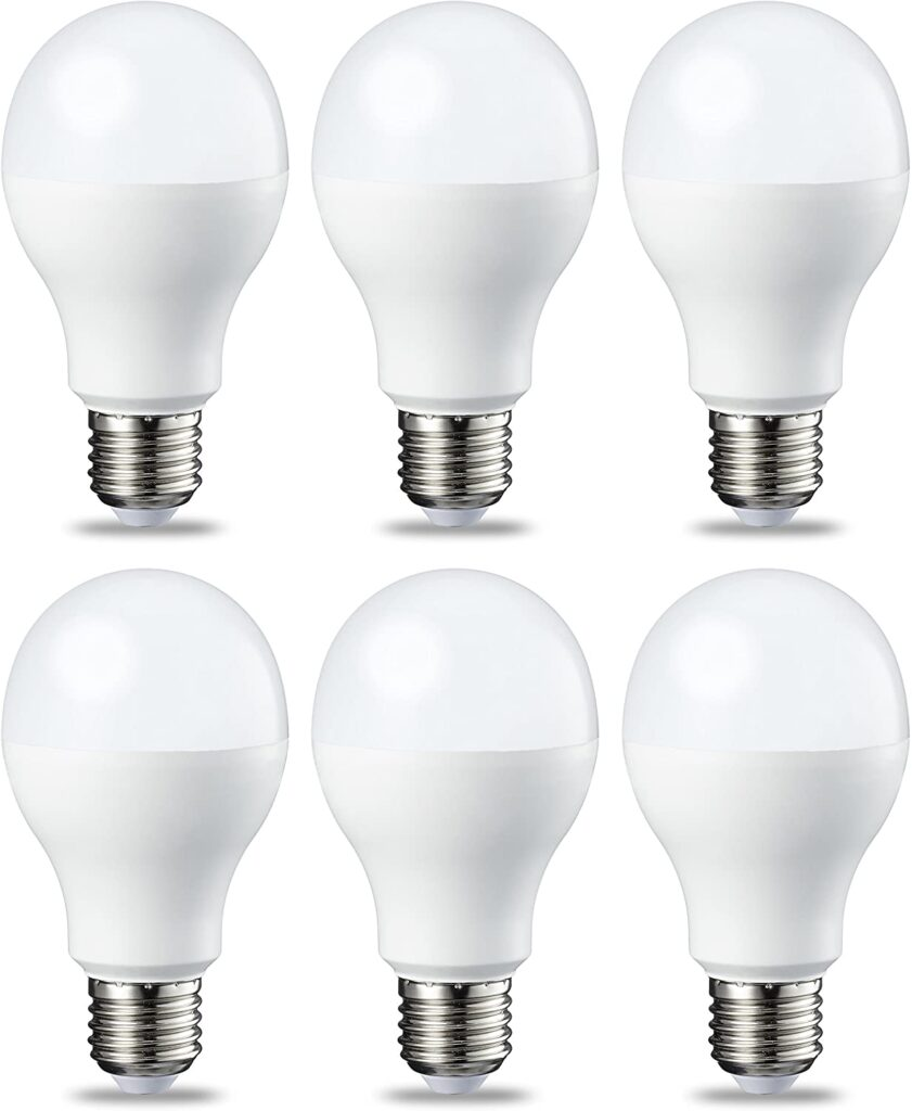lampara de techo bombilla led