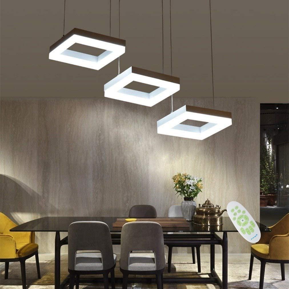 LED 35W Regulable Lámpara de Techo Comedor Colgante