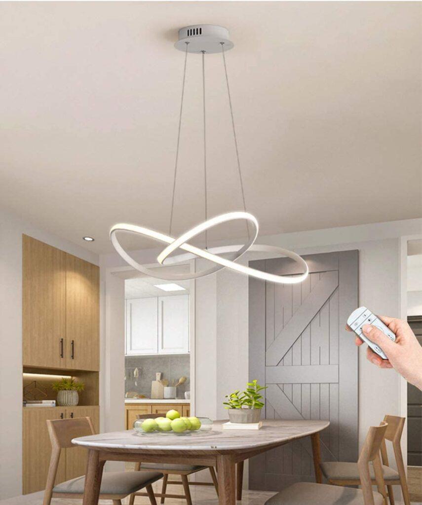 Lampara de techo LED regulable fantasia